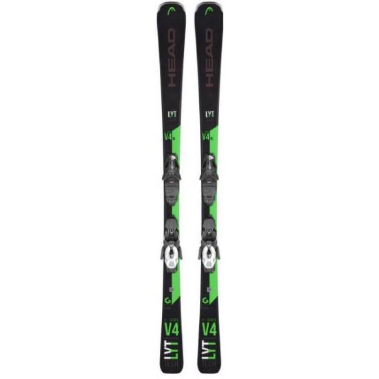 Горные лыжи V-Shape V4 XL LYT-PR black/green