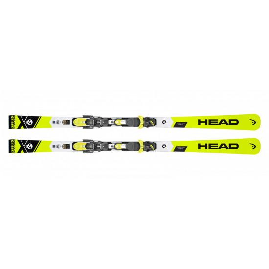 Комплект WC Rebels iSpeed RP EVO 14 + FF EVO 14 BRAKE 85 [D] (313248+100735) (горные лыжи+крепления гл) white/black