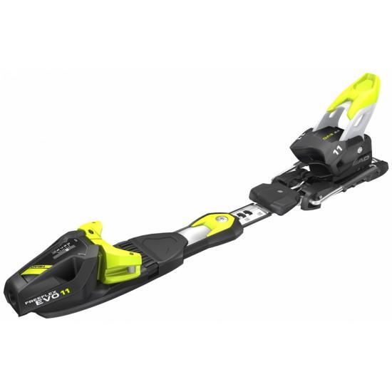 FREEFLEX EVO 11 BRAKE 85 (D) (крепления гл) matt black/white/flash yellow