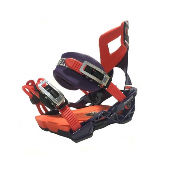 Крепления для сноуборда Technine PRO SLUGGER 420 BLUE/RED F18
