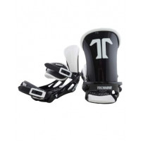 Крепления для сноуборда TECHNINE BLASTER BINDING FLAT HB BLACK/WHITE F19_O