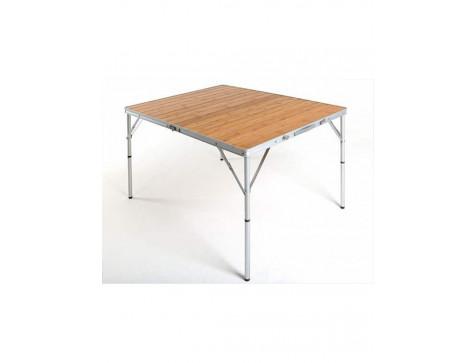 Кемпинговый стол Bamboo с бамбуковой столешницей Maverick