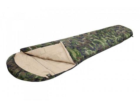 Спальный мешок TREK PLANET Fisherman, трехсезонный, правая молния, цвет: камуфляж