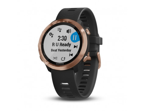 Беговые часы Garmin Forerunner 645 Music, GPS, EU/PAC, Rose Gold (010-01863-33)